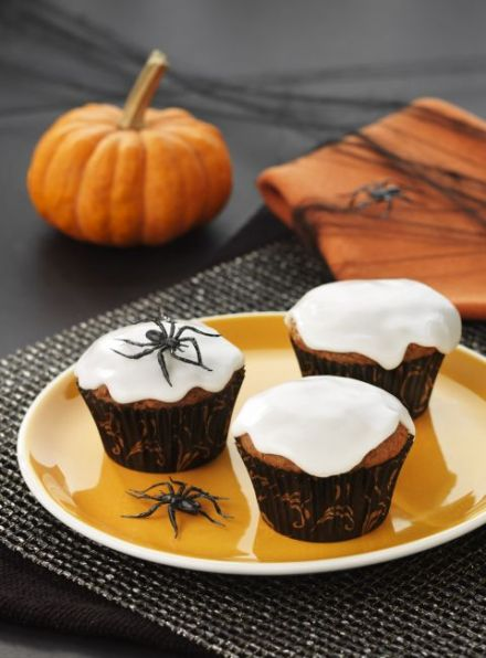 Halloween carrot cupcakes (allergy-free) 1