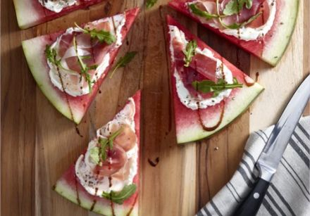 Savory Watermelon Pizza 1
